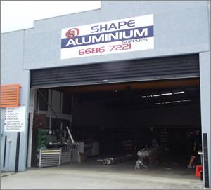 Shape Aluminium Ballina